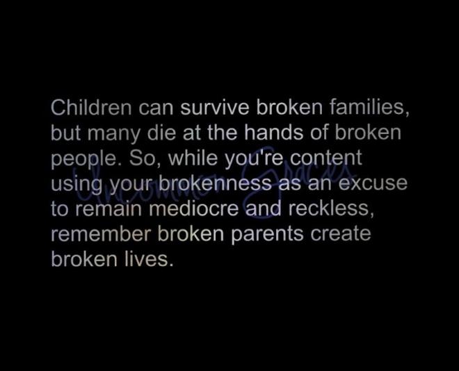 broken parents