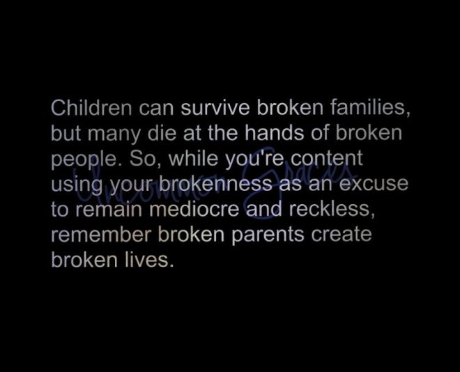 broken parents
