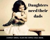 Dads need daughters