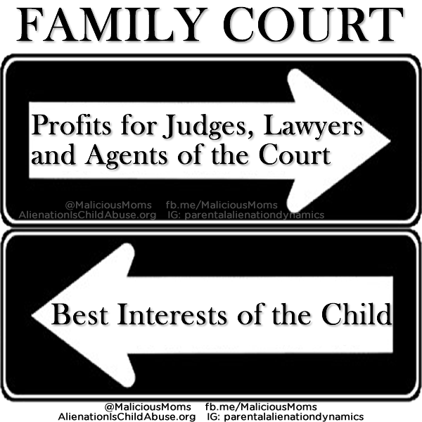 The Family Courts in the United States are Biased Against Fathers.