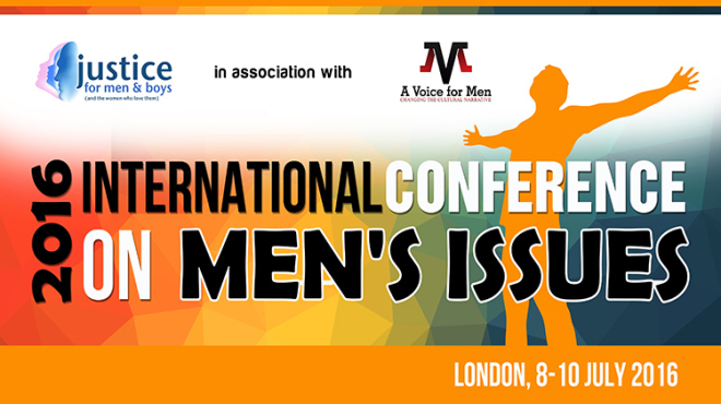 The Second International Conference on Men's Issues is ON!