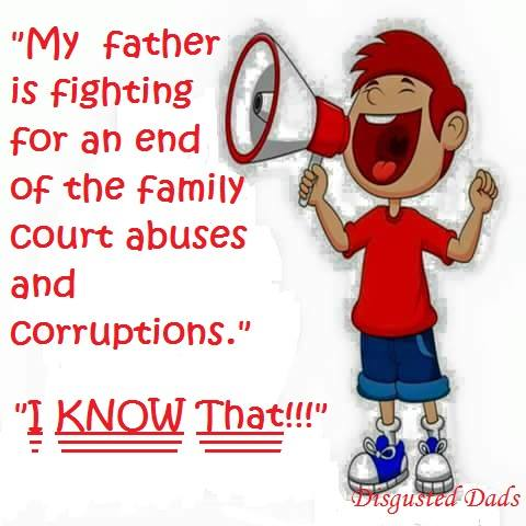 Who Stands Up For Fathers'Rights