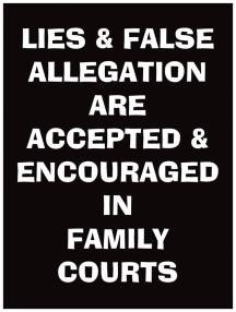 Lies are encouraged in Family courts - 2016