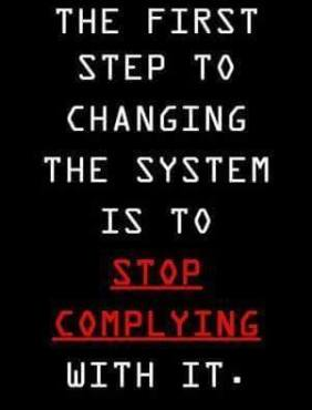 Stop Complying - 2016