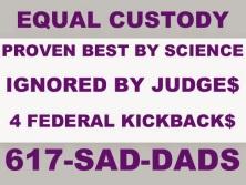 Equal Custody Sign - 2016
