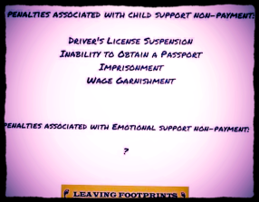 DL Suspension No Passport Incarceration -Child Support- 2016